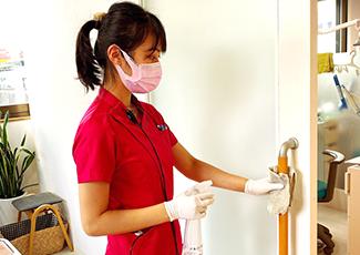 当院の感染症予防の取り組み